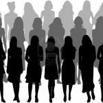 7807786-gran-grupo-de-mujeres-silueta