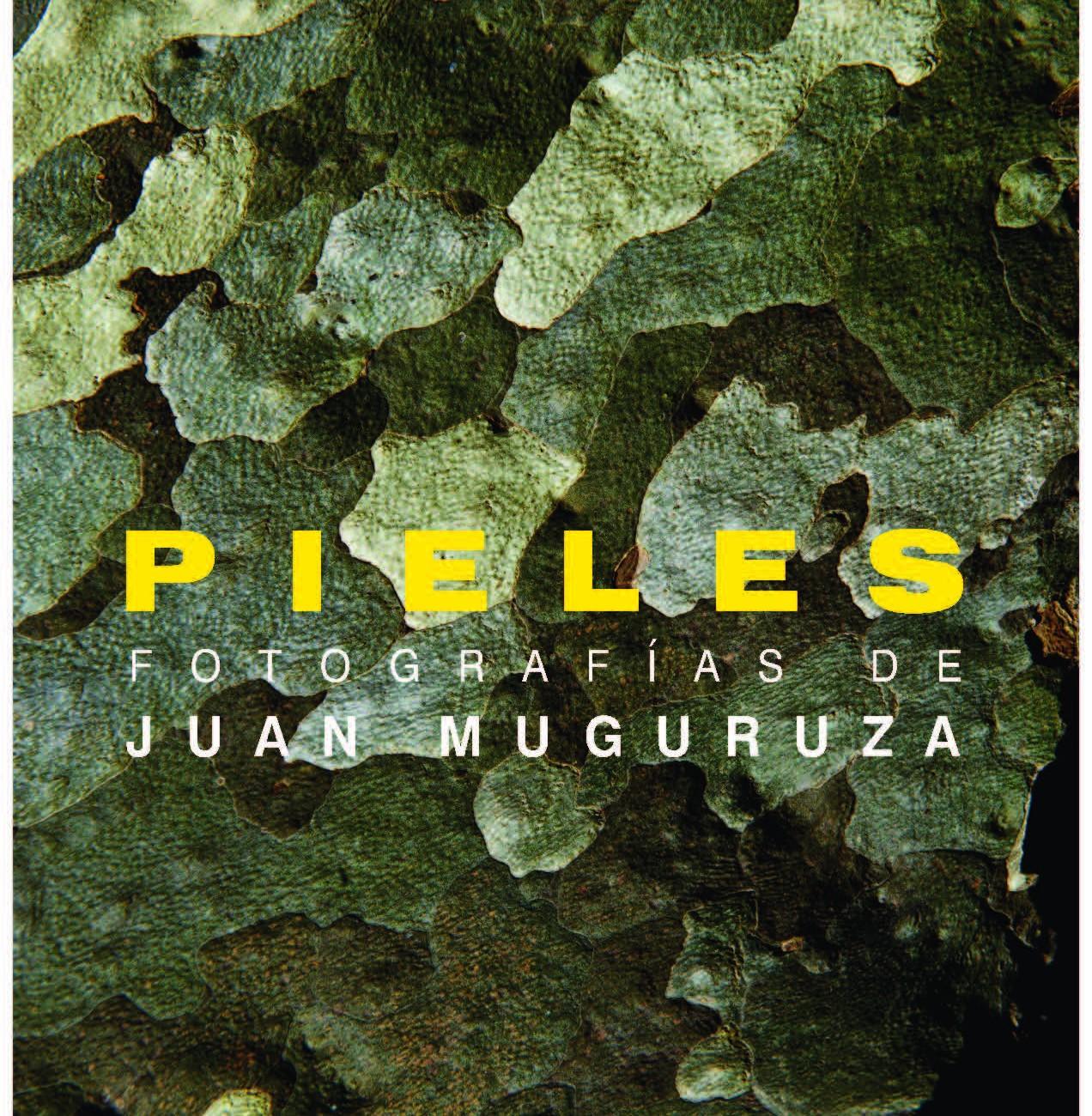 PIELES. Exposición fotográfica de Jan Muguruza 2012. Cartel Exposición PIELES en el Real Jardín Botánico de Madrid