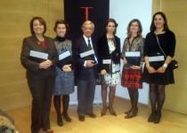 Concha Gomez, Ainhoa del Carre, Rafael Anson, Covadonga Quintana, Leticia Espinosa de los Monteros y Concha Castillejo