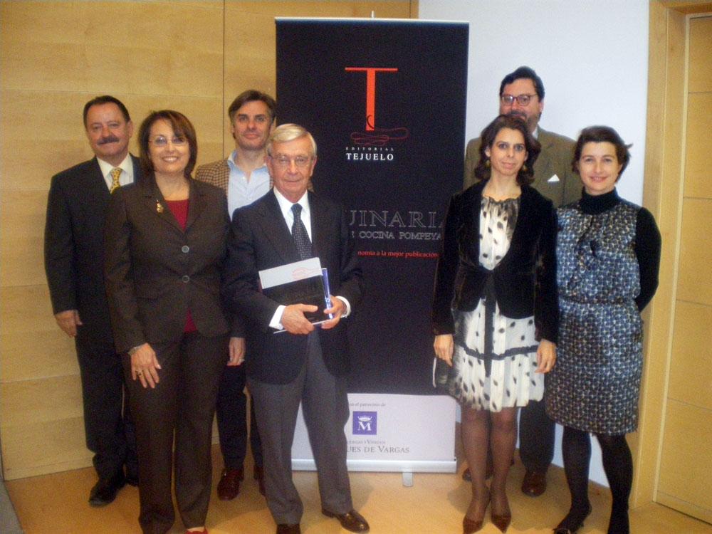 Jose Manuel Girones, Concha Gomez ,Ramon de Arana , Rafael Ansón, Covadonga Quintana, Jaime Ruiz de Velasco y Ainhoa del Carre