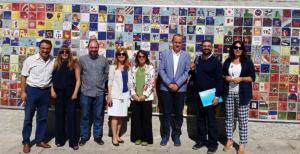 Miembros del Comite Evaluador de UNICEF con la Alcaldesa de Torrelodones